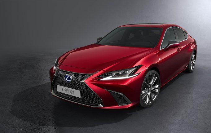 2020 Lexus ES 300h F Sport