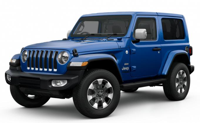 2019 Jeep Wrangler Overland