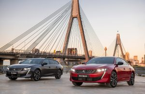 Peugeot 508 Fastback and Sportswagon