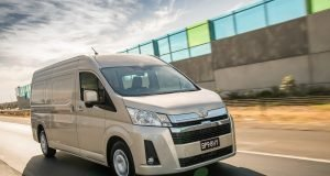 2019 Toyota HiAce SLWB (with Option Pack)