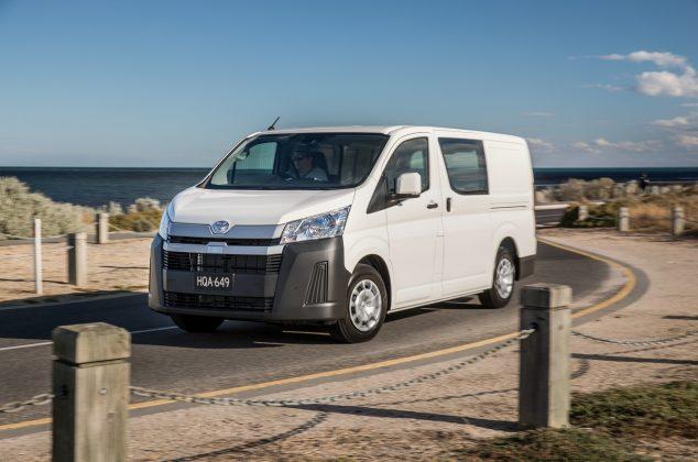 2019 Toyota HiAce LWB