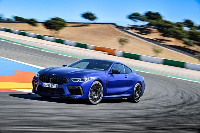 2020 BMW M8 Competition Coupé
