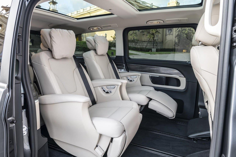 2020 V-Class interior