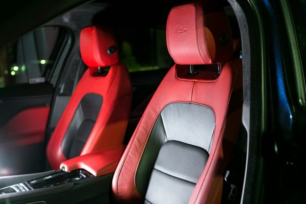 F-PACE front seats