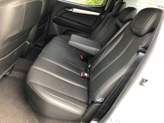 Colorado back seats