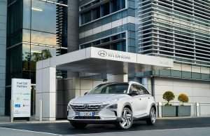 Hyundai NEXO hydrogen fuel cell vehicle