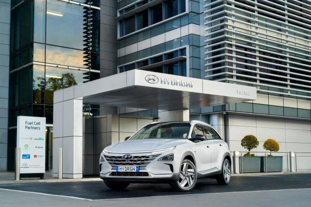 Hyundai NEXO hydrogen fuel cell vehicle