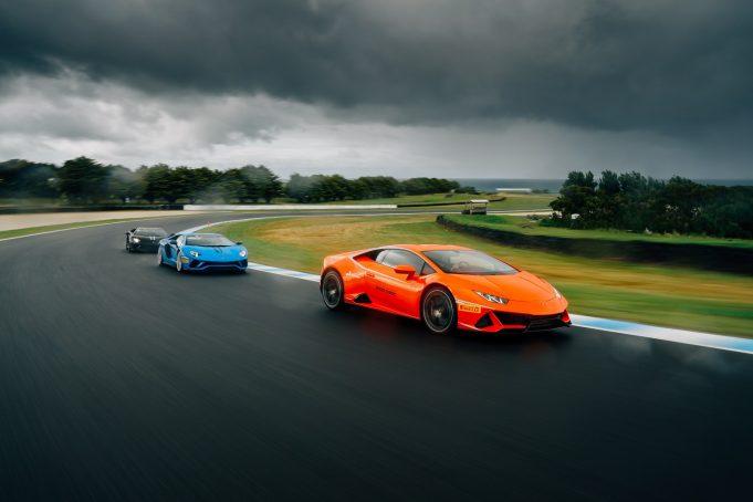 On Track: the Lamborghini Experience