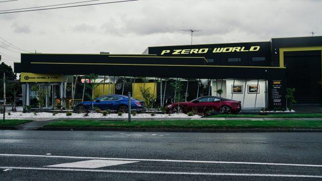 Pirelli P Zero World Melbourne