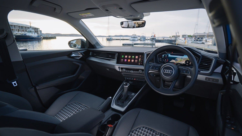 Inside the 2020 Audi A1 Sportback