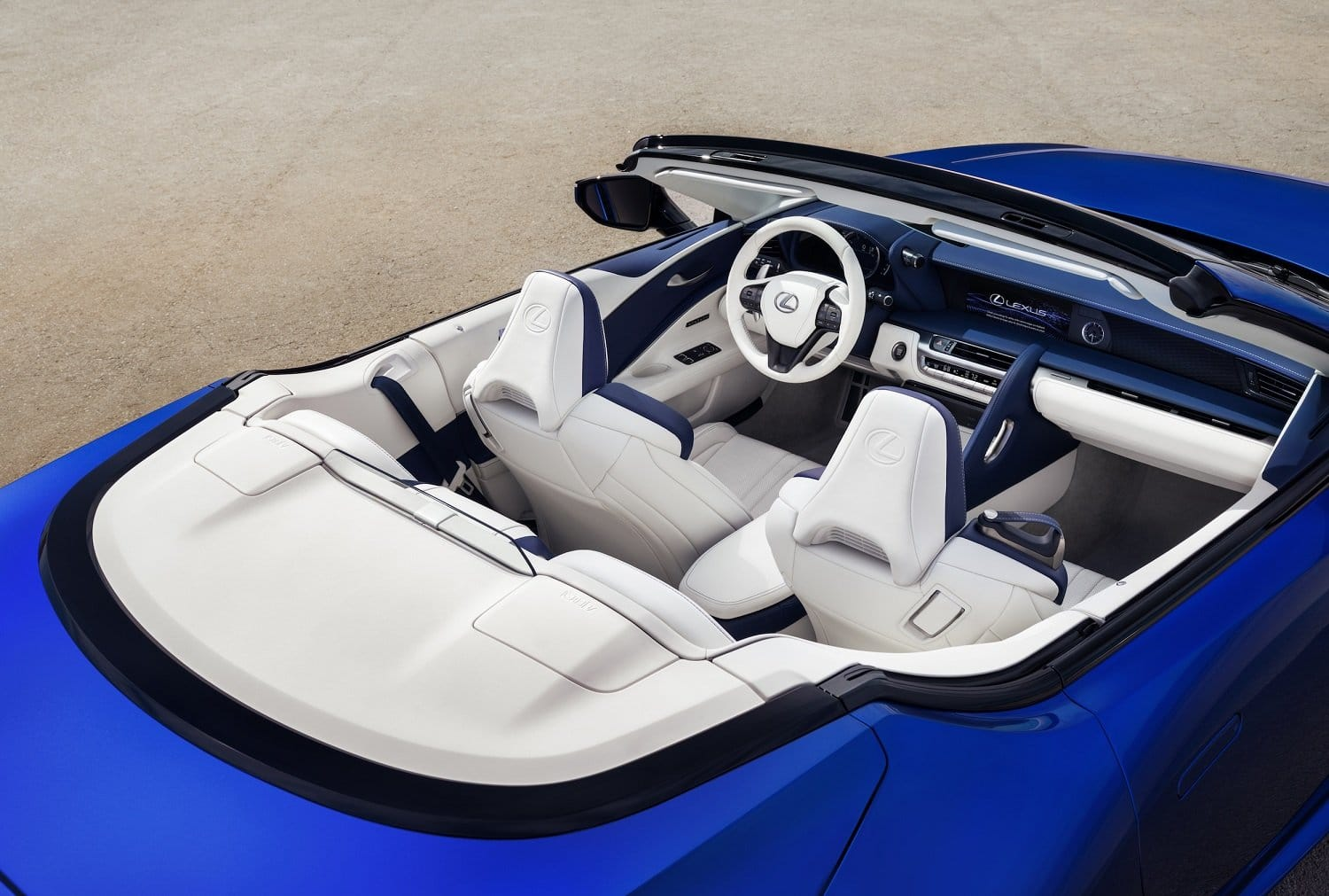 2020 Lexus LC 500 Convertible - Interior