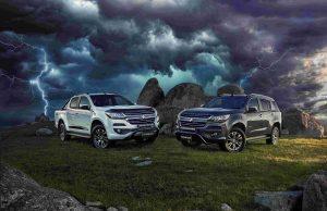 Holden Colorado and Trailblazer Storm edition
