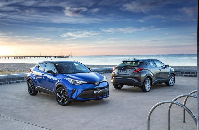 2020 Toyota C-HR range now includes hybrid
