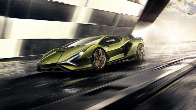 Lamborghini SIan FKP 37 super car