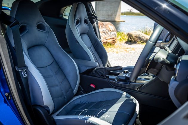 GT-R front seats