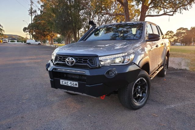 2019 Toyota HiLux Rugged X