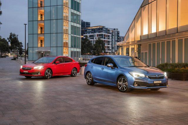 2020 Subaru Impreza range