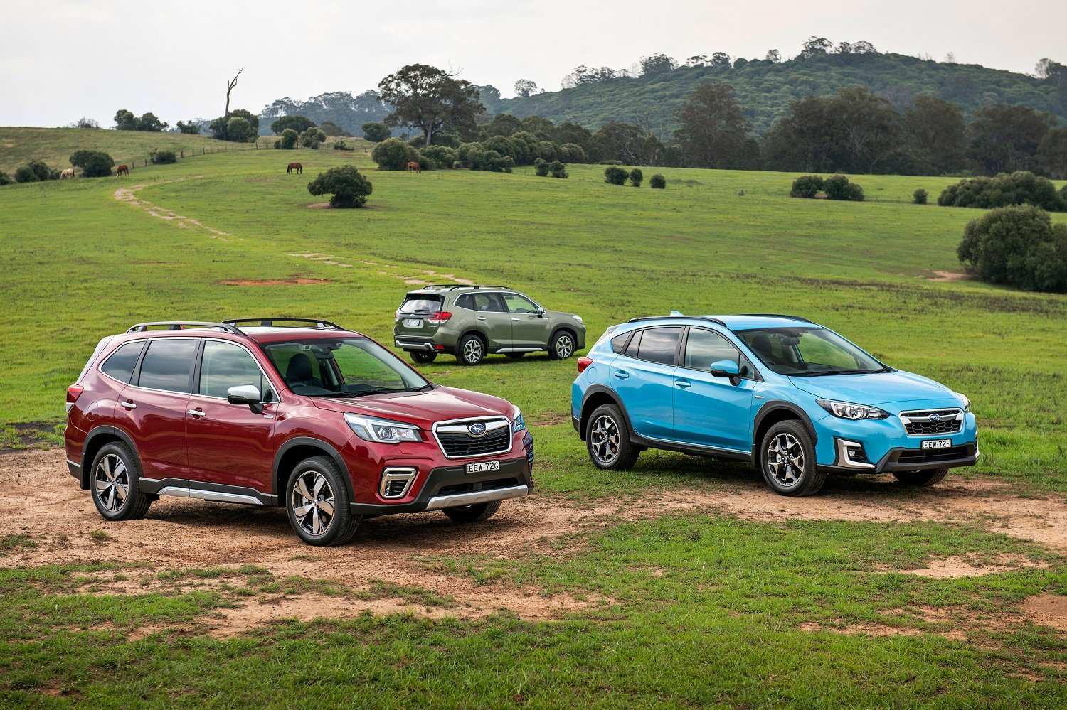 2020 Subaru Forester and XV hybrid