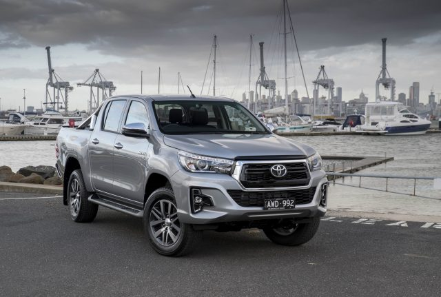 Toyota HiLux once again tops new car sales