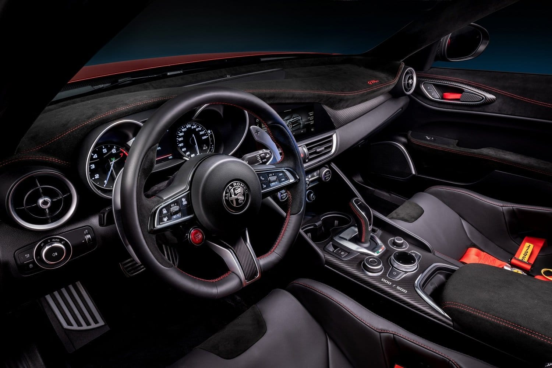 Inside the 2020 Alfa Romeo Giulia GTAm