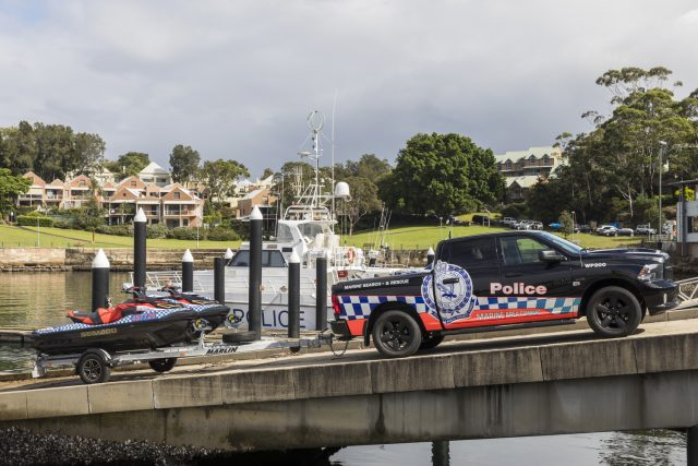 NSW Police Marine Area Command 2020 RAM 1500 Crew Cab