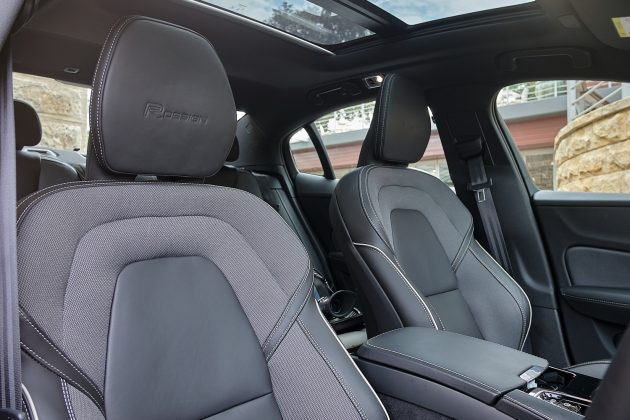 s60 front seats