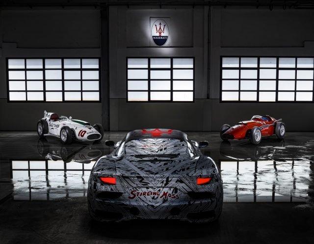 Maserati dedicates MC20 prototype to Sir Stirling Moss