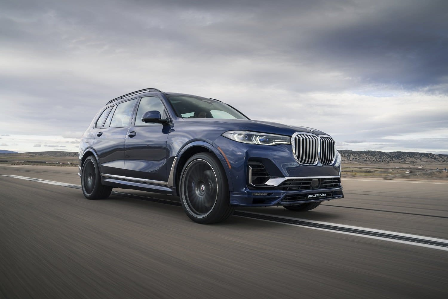 alpina launches new pinnacle large suv model  the xb7