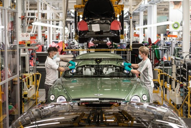 Aston Martin, Bentley and Lamborghini returning to production
