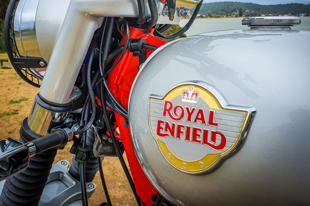 2020 Royal Enfield Bullet Trials Works Replica 500