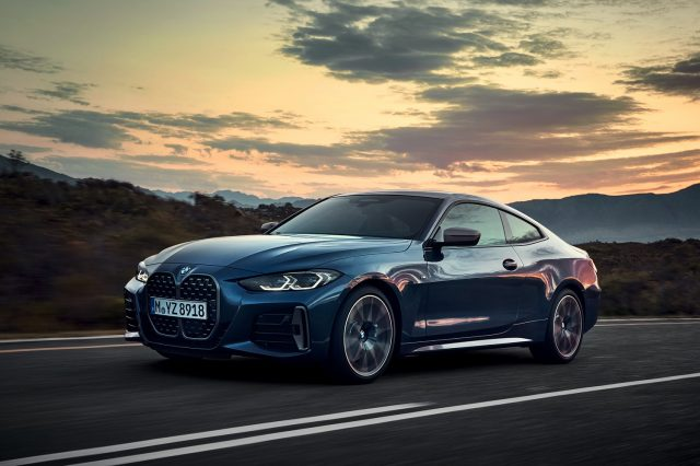 Dynamically honed 4 series coupé puts rubber to road this october