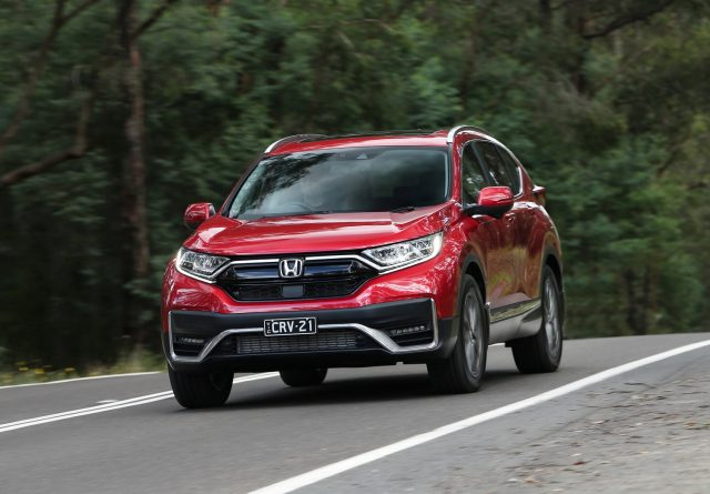 Honda CR-V grabs fresh look and more tech for 2021