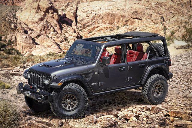 Batsh$t crazy Jeep Wrangler concept, a fanboys wet dream