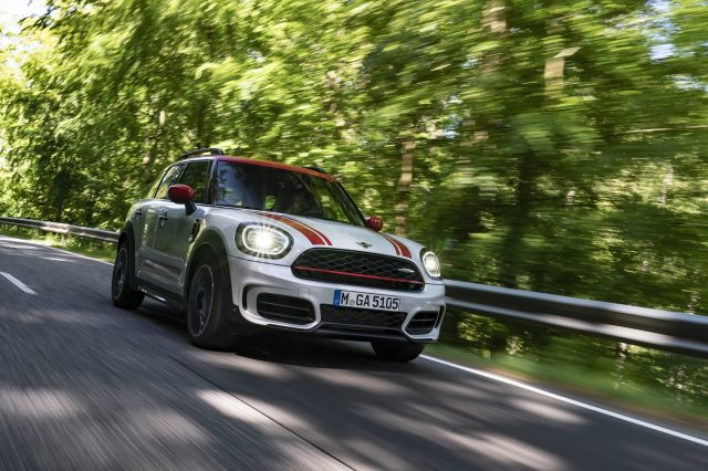 MINI Countryman set to thrill with release of new JCW edition