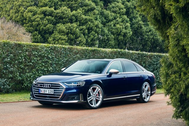Exhilarating performance with earth turning power is the new Audi S8