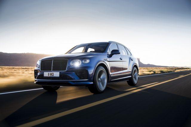 The ultimate Bentayga is here..... queue the new Bentley Bentayga Speed