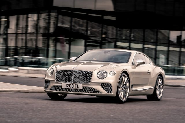 Bentley Continental GT Mulliner coupe