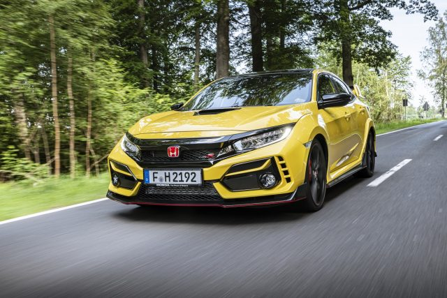 Want the new Honda Civic Type R Limited Edition? well it comes with a catch