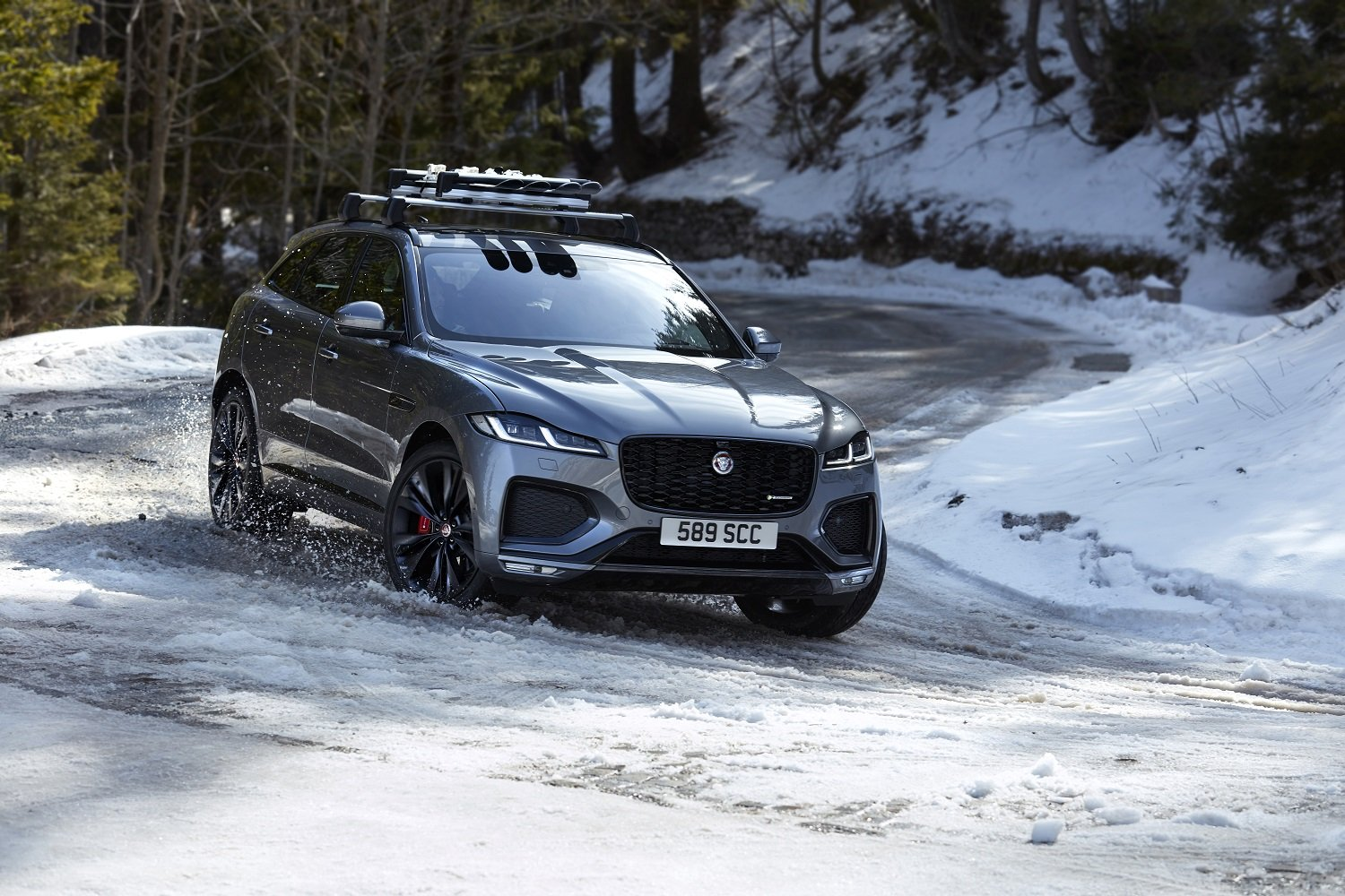 New Jaguar F Pace Set To Be More Luxurious Connected And Efficient