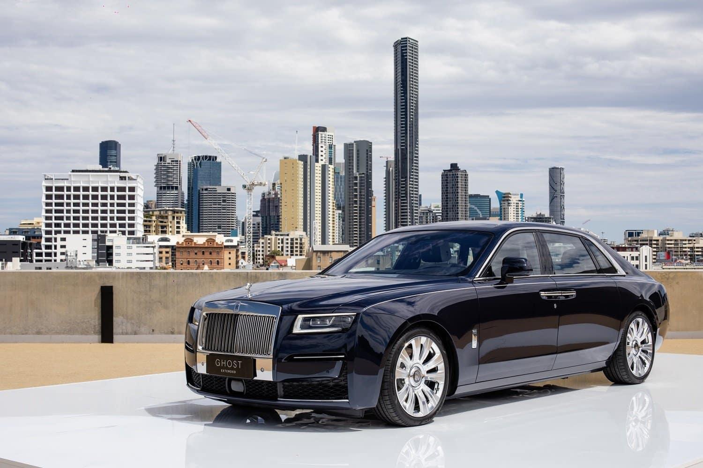 Rolls-Royce reveals new Ghost Extended in Australia