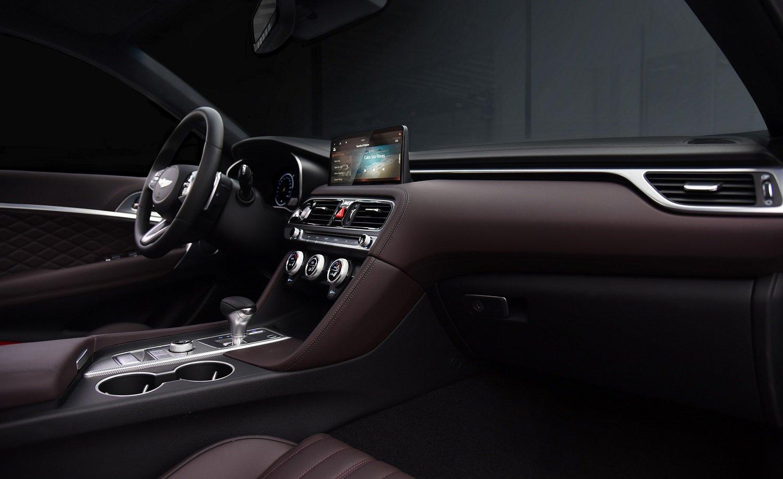Genesis unveils the new Genesis G70 sports sedan