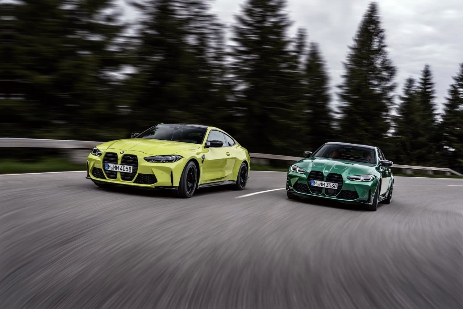 2021 BMW M4 and M3