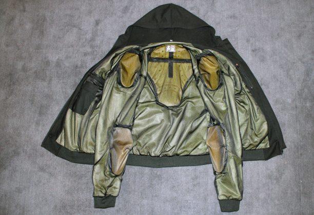 inside the raptor hoodie