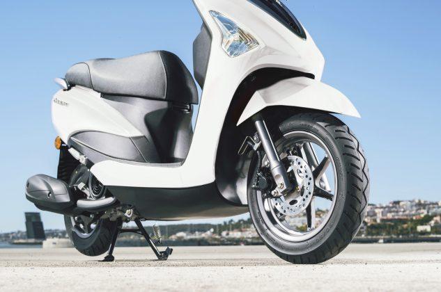 2020 Yamaha D'elight 125 scooter