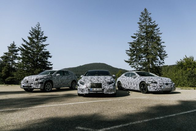 Mercedes-Benz expands electric EQ range out to six