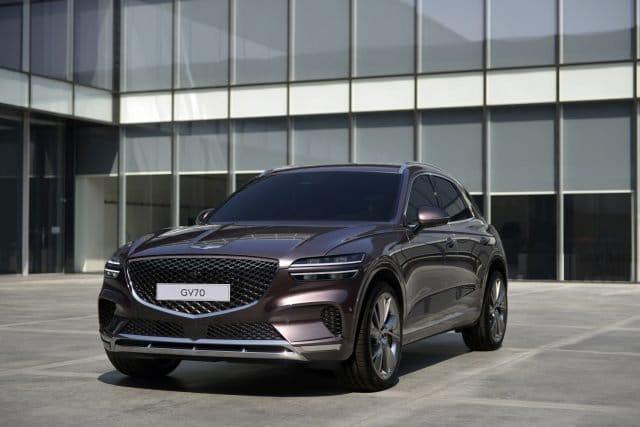 Genesis reveals new line up star, the GV70 SUV