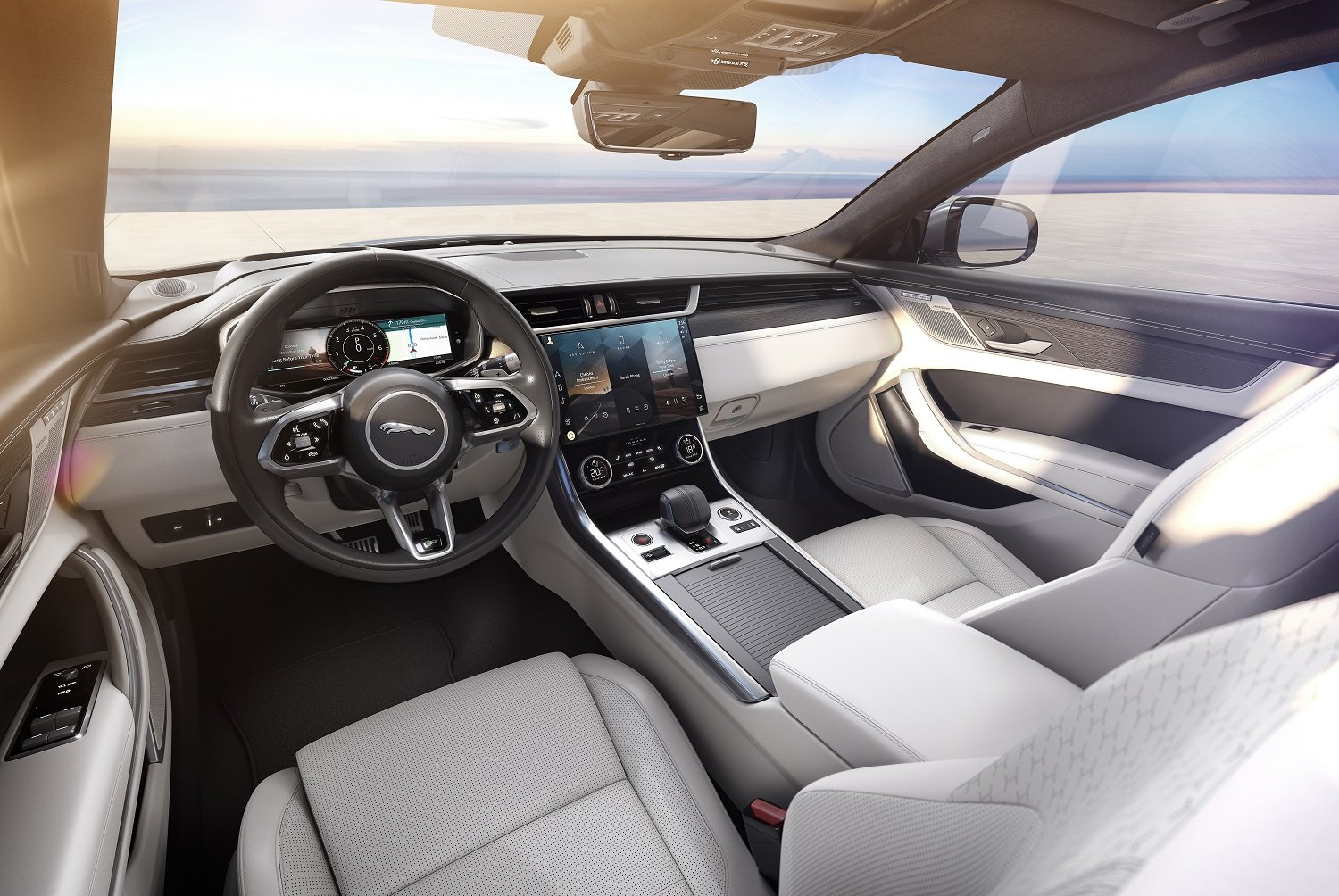The 2021 Jaguar XF is simply beautiful, connected and ...