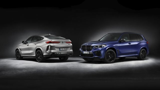 2021 First Edition BMW X5 M and BMW X6 M