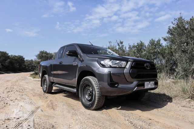 2020 Toyota HiLux SR Hi-Rider 4x2 Extra Cab