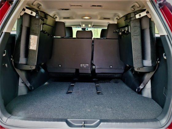 rear cargo space